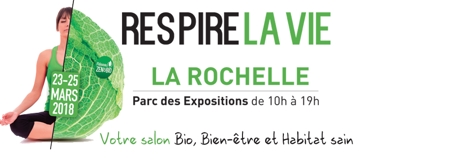 Logo Salon Respire la vie à La Rochelle