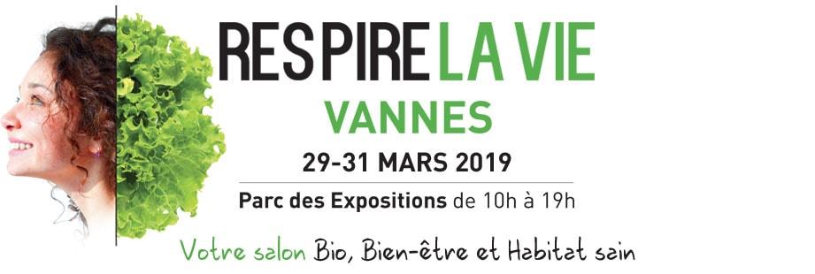 Logo salon Respire la vie Vannes