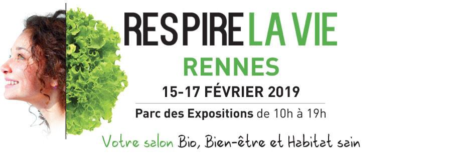 Logo salon RESPIRE LA VIE Rennes
